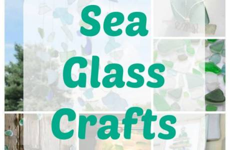 Fun Crafts to Make with Sea Glass