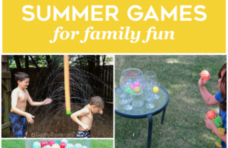 Summertime Ideas the Whole Family Will Love