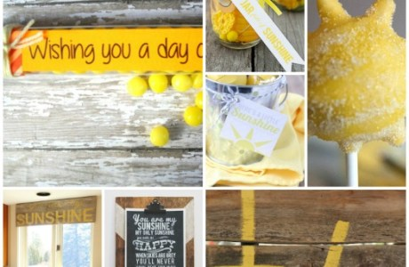 20 Bright and Sunny Craft Ideas