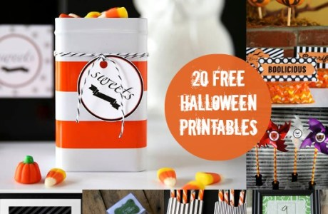20 Free Printables for Your Halloween FUN!