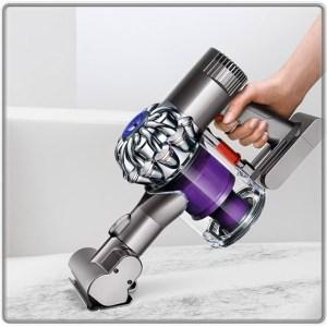 Lightweight handheld cordless vacuum