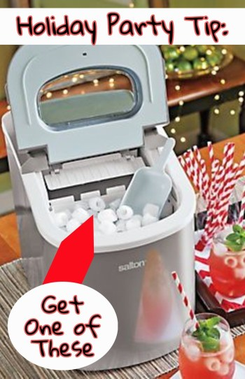 Countertop Ice Maker Kmart : PORTABLE ICE MAKER! Seriously, a little countertop ice maker machine ...