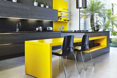 04 streamlined and fearless kitchen island decoration homebnc