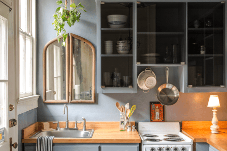 01 serenity with modern blues small kitchen idea.homebnc