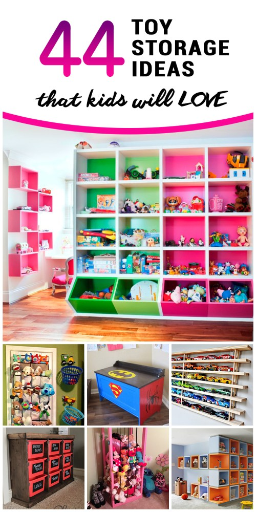 Nifty Toy Storage Ideas To Contain Clutter Toy Storage Ideas That Kids Will Love 2018 Photo Storage Box Photo Storage Software