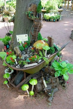 Teal Fairy Gardens Live Miniature Trees 2018 Artificial Miniature Trees Fairy Gardens Stairway To Heaven Tree House Diy Miniature Fairy Garden Ideas