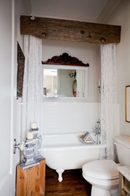 Medium Of Rustic Bathroom Decor