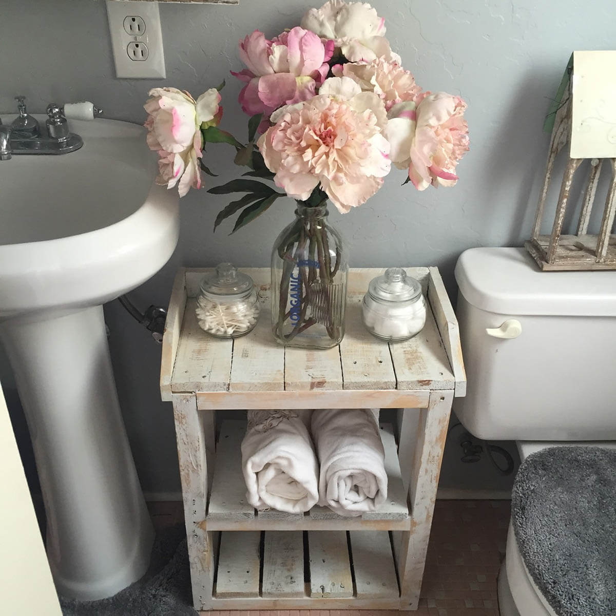 Fullsize Of Shabby Chic Bathroom Shelf