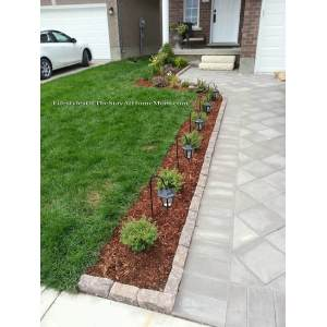 Horrible 2018 Landscape Pics Front Yard Lighted Driveway Bed Front Yard Landscaping Ideas Garden Designs