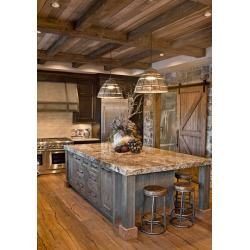 Small Crop Of Rustic Home Kitchen