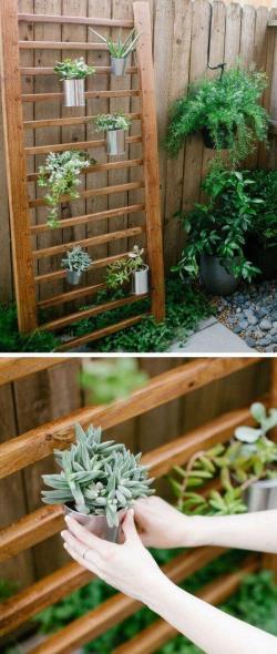 Small Of Outdoor Hanging Herb Garden