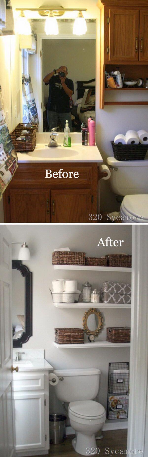 Large Of Bathroom Shelf Decorations