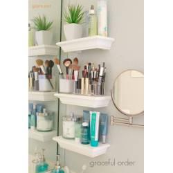 High 2018 Images Mounted Georgian Inspired Shelves Diy Bathroom Shelf Ideas Bathroom Wall Shelves Designs Glass Bathroom Shelves S