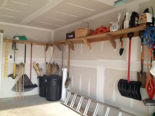 Medium Of Garage Wall Ideas