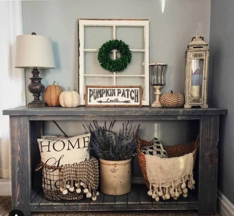 Contemporary Designs Pumpkin Patch Display Rustic Home Decor Ideas 2018 Rustic Mountain Home Interior Decor Rustic Home Interior Design Ideas