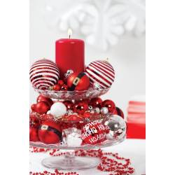 Small Crop Of Red Christmas Ornaments