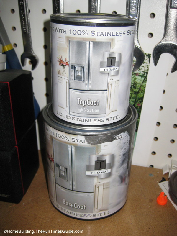 Thomas Liquid Stainless Steel Paint And Top Coat ...