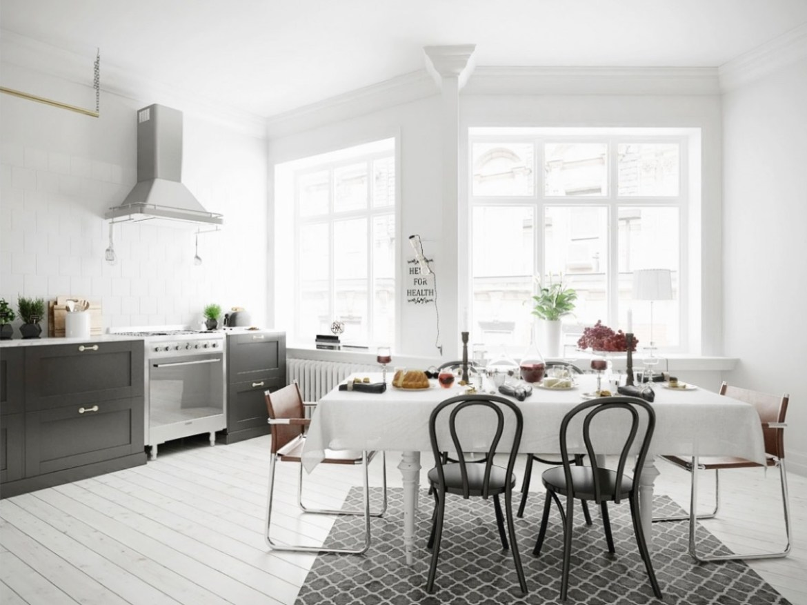 19 Stunning Scandinavian Inspired Dining Rooms For Your HomeHomeDecoMalaysia