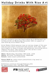 Invitation – Holiday Drinks With Rise Art