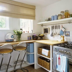 Tiny Colorful Kitchens