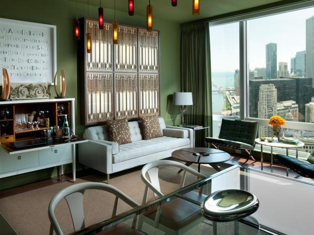 Rooms with an urban view