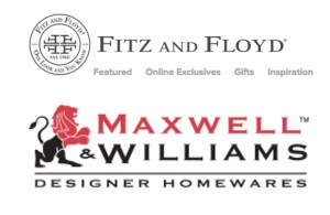 Housewares By Fitz and Floyd and Maxwell & Williams