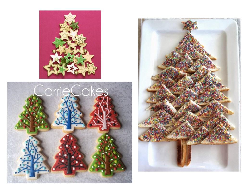 Christmas Tree Cookie Platter