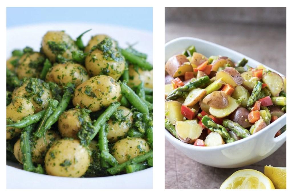 via: http://www.ibssano.com/low_fodmap_potato.html ; http://86lemons.com/asparagus-potato-salad/