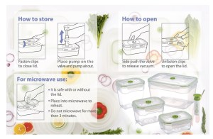 Product Review – Nestable Food Storage Vacuum Containers