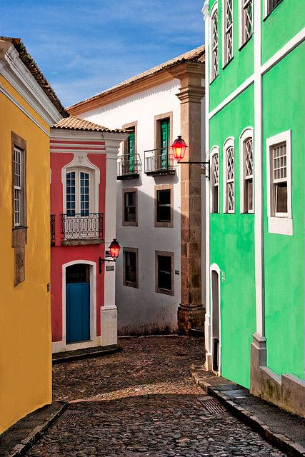 Colorful homes - Brazil