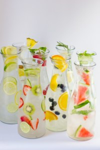 Colorful Infused Water
