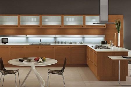 modern wooden kitchen designs
