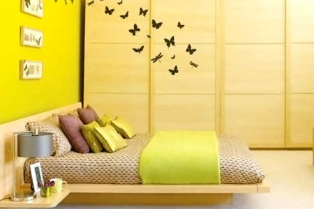 15 zesty yellow bedroom designs | home design lover