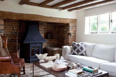 country cottage living room ideas ?w=580