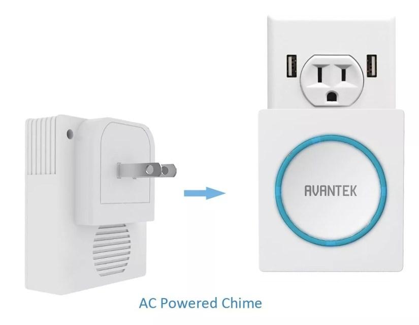 AVANTEK DT32 Wireless Doorbell
