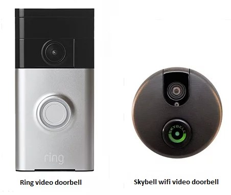 wireless front door cameraSkybell vs Ring  which is the best video doorbell for home