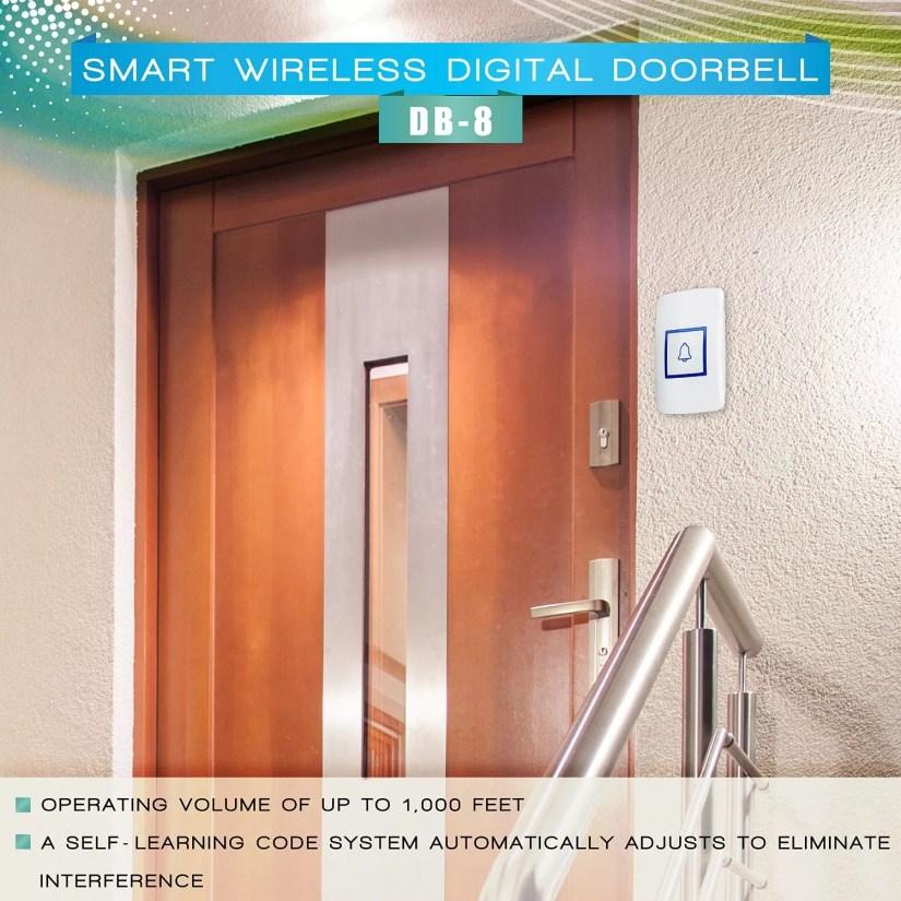 Bestrix digital wireless doorbell