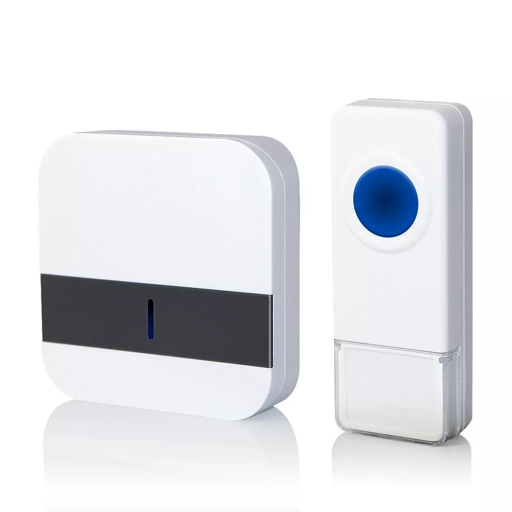 portable wireless doorbell standard and hitech alternative to your old designed doorbell this wireless doorbell is perfect for our home security - Doorbell Chime