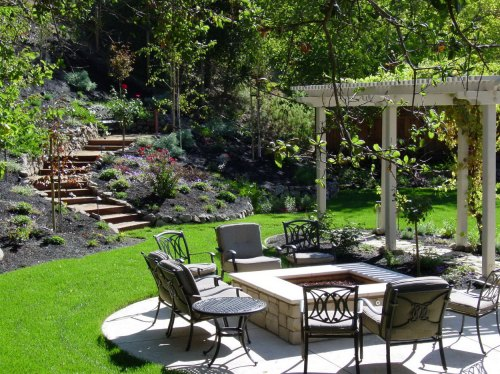 Medium Of Beautiful Backyard Designs