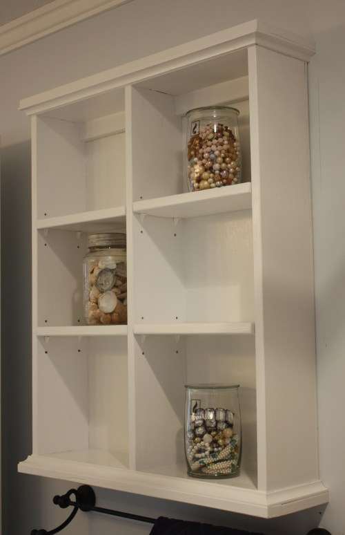 Medium Of Shelves Bathroom Wall
