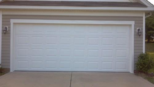 Medium Of Double Garage Door