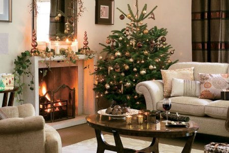 4 10 best christmas living room decorating ideas rich chocolate christmas living room