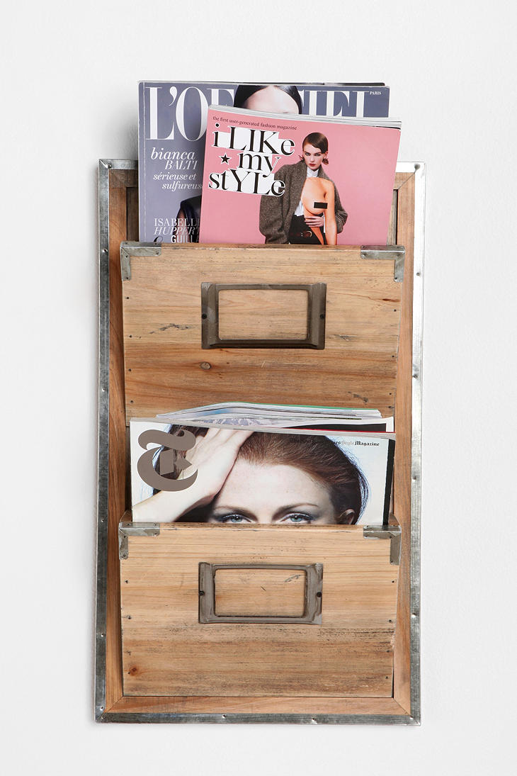 Wooden room magazine rack home lilys design ideas