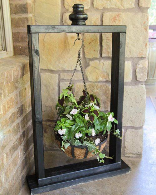Medium Of Hanging Window Herb Garden