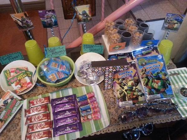 Homemade Parties DIY Party_Teenage Mutant Ninja Turtles Party_Thirdy29