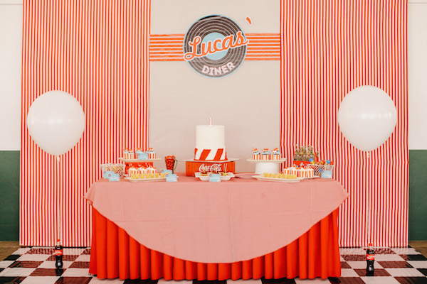 Lucas 50s Diner Party Part 1