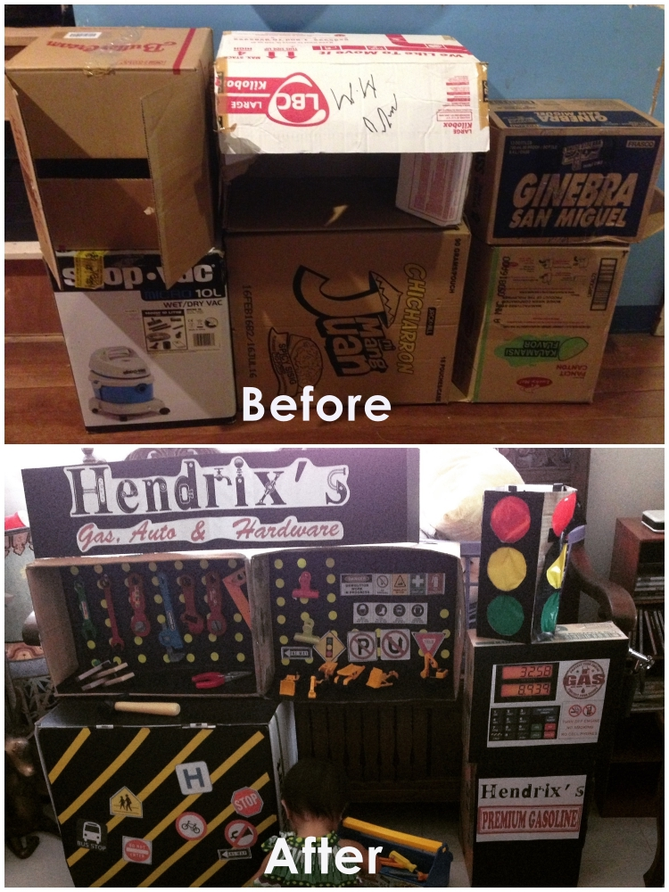 DIY Cardboard Contruction and Mechanics Playset14