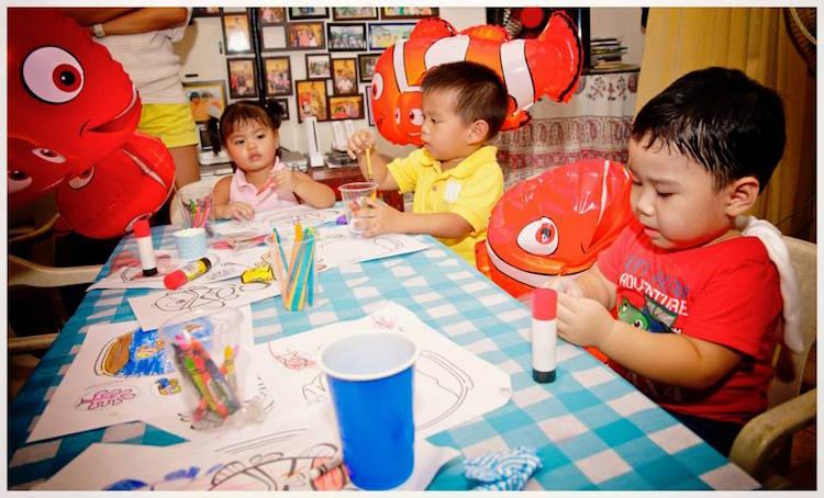 Homemade Parties DIY Finding Nemo Dory _ Russel04