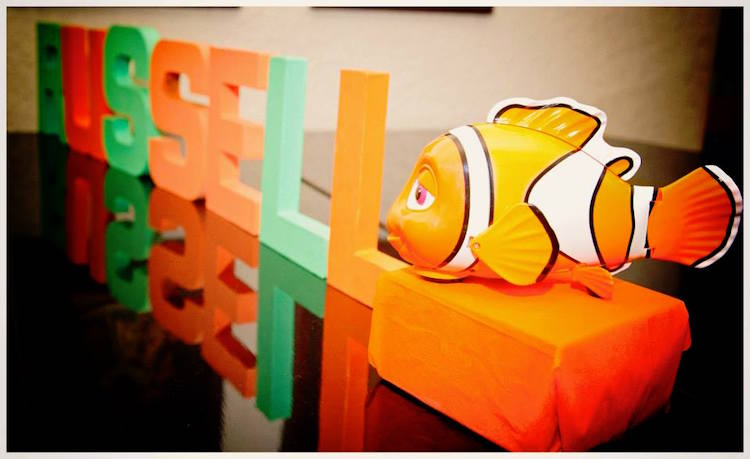 Homemade Parties DIY Finding Nemo Dory _ Russel13