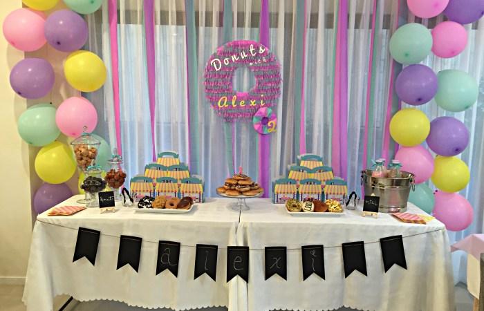 Alexi's Donut Party